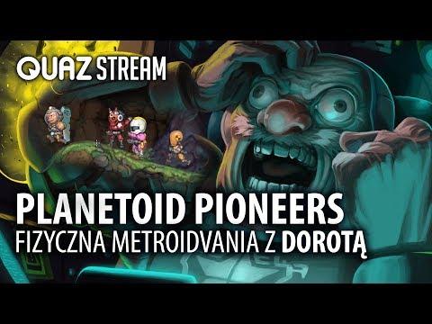 Planetoid Pioneers - fizyczna metroidvania familijnie