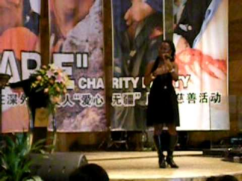 Xavier Baptiste Angel at Shenzhen Daily Fundraising Concert