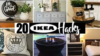 ⭐️Absolute TOP 20 Bęst DIY IKEA HACKS That'll Blow Your Mind!
