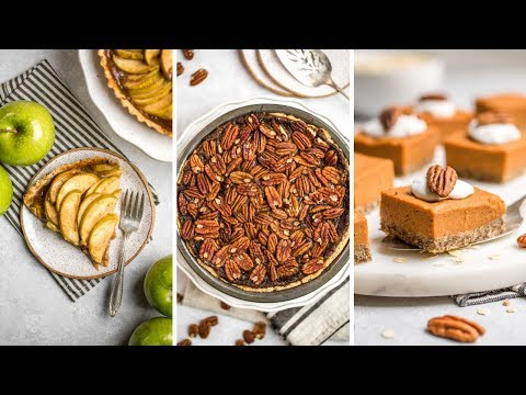 Vegan Dessert Recipes for the Holidays (Easy + Healthy!)