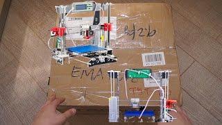 Распаковка и полный обзор комплектующих 3D принтера