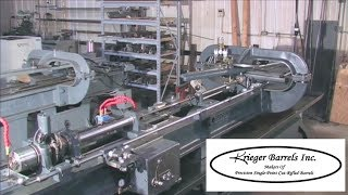 Krieger Barrels Cut-Rifling Process
