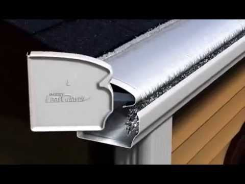 Animation Of How Leafguard Brand Gutters Work Youtube