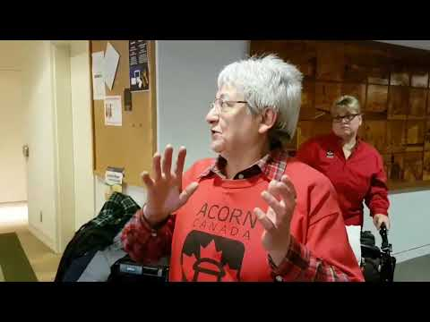 Ottawa ACORN Broken Hearts Action * Action Coeurs brisés