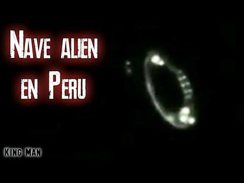 Nave extraterrestre grabada en Perú