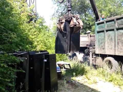 Игровые автоматы полицейские раздавили в Воронеже