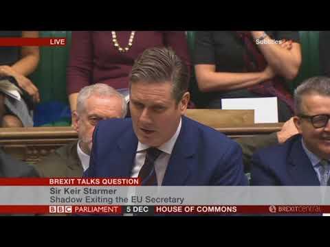 David Davis responds to Labour's urgent question