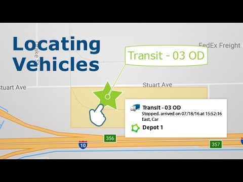 How to Locate your Vehicles on the Live Map in MyGeotab | Fleet Productivity