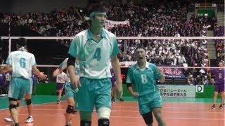 春の高校バレー 東洋 東京 vs 清風 大阪 2013