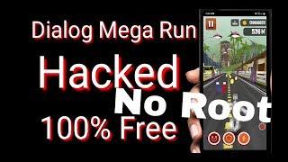 How to Hack Dialog mega run Game-100%Free-NO ROOT මෙගා රන් ගේම් එක හැක් කරමුද ?