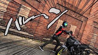 【MT-09】自分を海外のイカすバイク乗りだと思い込んでいる一般男性がGSX-R600と写真撮りに行く動画【モトブログ】