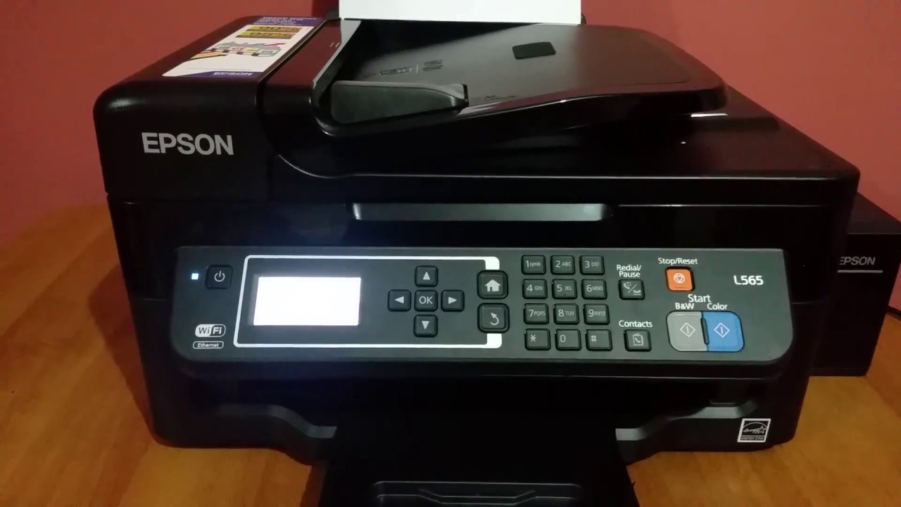 Epson L565 Incoming fax setting