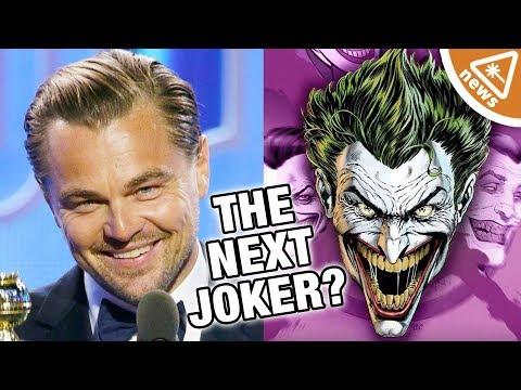 Could the Leonardo DiCaprio Joker Movie Save the DCEU? (Nerdist News w/ Jessica Chobot)