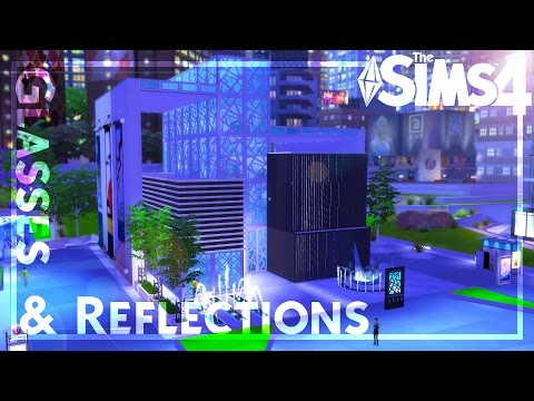 Glasses & Reflections Art Center ~ The Sims 4 Speed Build