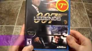 Unboxing 007 Legends James Bond Activision Nintendo Wii U