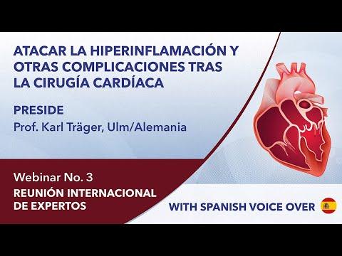 REUNIÓN INTERNACIONAL DE EXPERTOS | Cirugía Cardíaca | Versión completa | Webinar 3