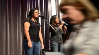 Kalia Geary & Anna Sithisane - Truman Talent Show 2015