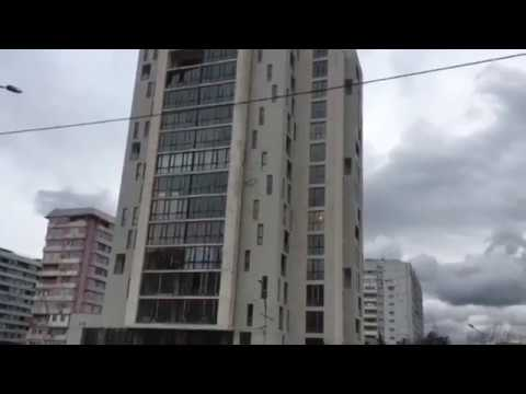 Ураган крушит окраины Тбилиси