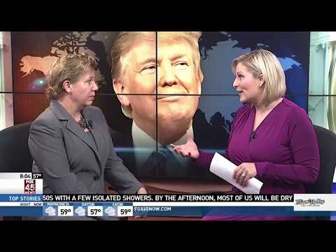 WRGT: Wright State professor discusses Donald Trump's upcoming trip to Asia