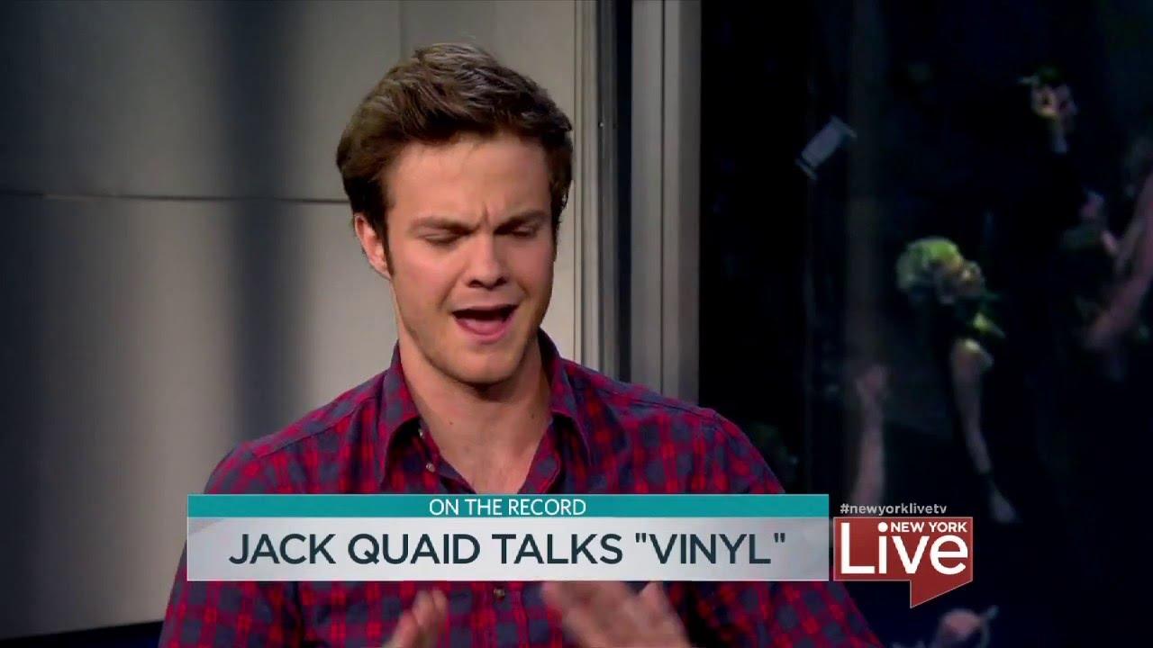 "Jack Quaid Talks ""Vinyl"" - YouTube"