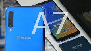 Test Samsung Galaxy A7 2018 : Le triple capteur photo est nul ?!  Mon avis
