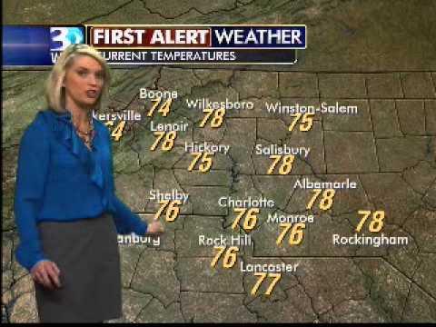 Katie Garner WBTV Weather Forecast YouTube - Wbtv weather forecast