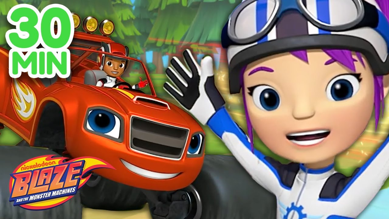 Download Gabby & Blaze Save The Day! 30 Minute Compilation | Blaze and the Monster Machines