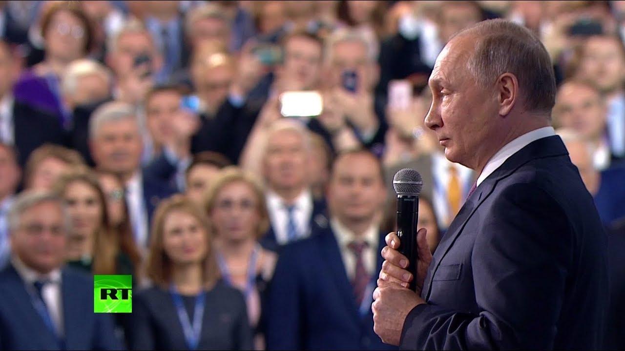 Путин: мы не должны относиться к России как к любимой бабушке