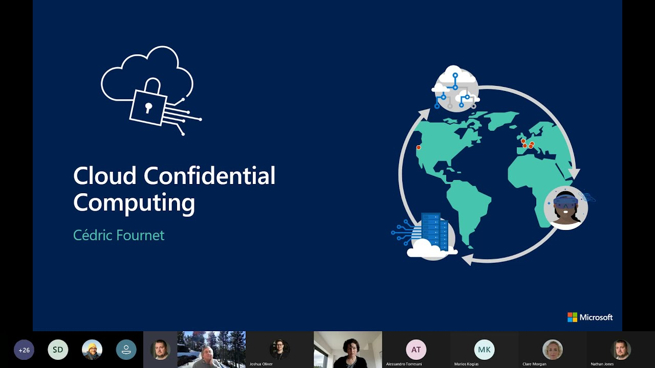 Cloud Confidential Computing   JRC Workshop 2021
