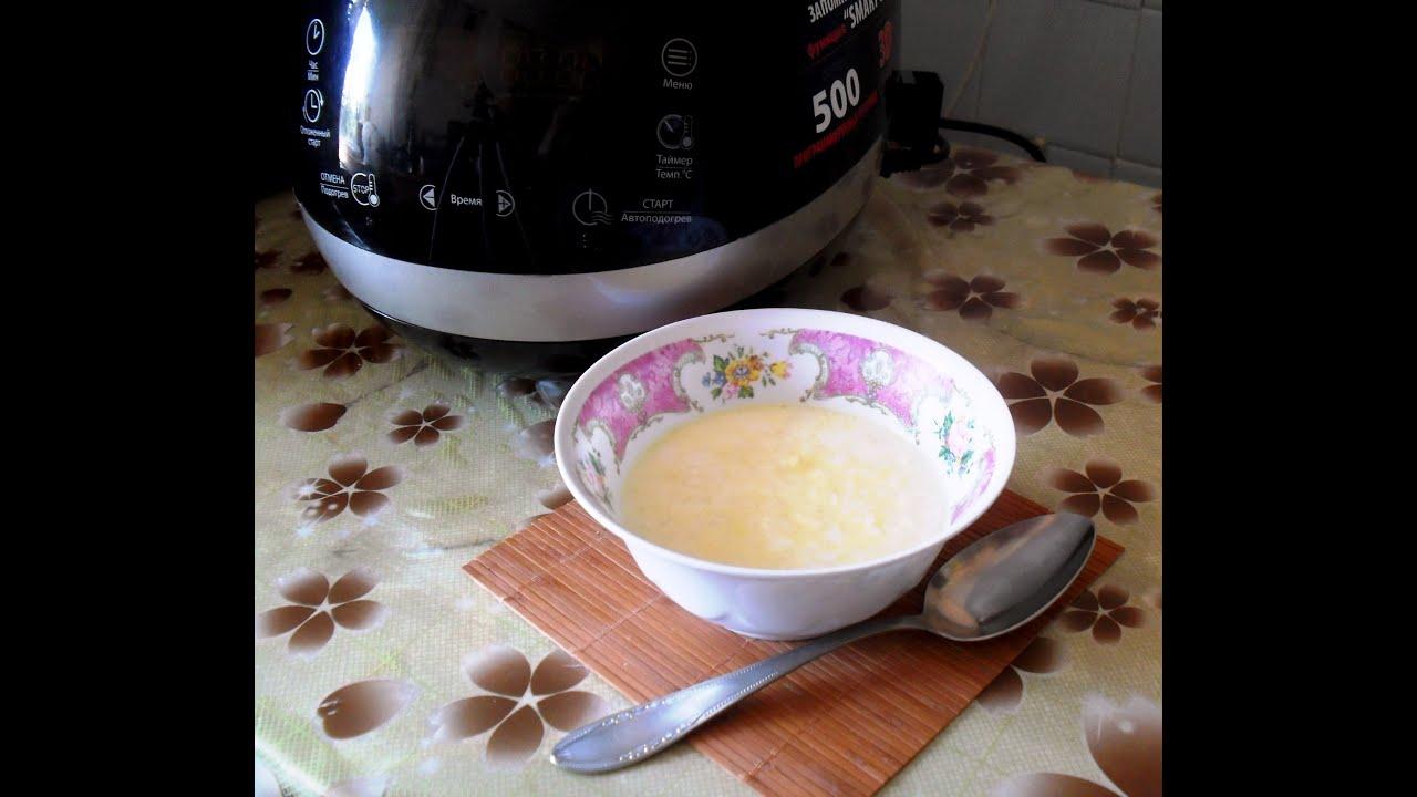 молочная рисовая каша в мультиварке поларис 0523 видео рецепт