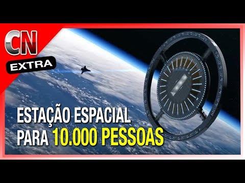 A Estação Espacial para 10 mil Pessoas - Von Braun Space Station - Gateway Foundation | Ed Extra 059