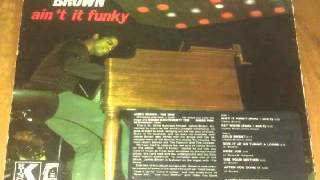 JAMES BROWN   AINT IT FUNKY   PARTS 1 AND 2
