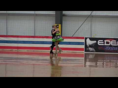 20160731 USARS Nationals  Open Team Free Dance  Jeff & Cassidy
