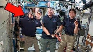 NASA Unterläuft Fehler Bei Live-Übertragung Auf Der ISS