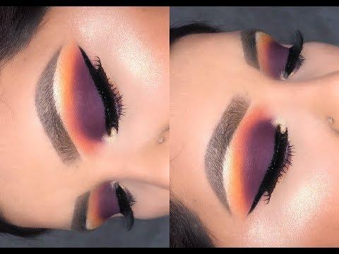 Purple Sunset Eye look / Morphe x James Charles Palette