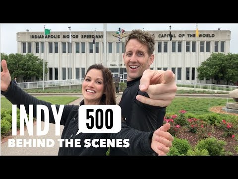 INDY 500 BEHIND THE SCENES 2017 | Kristin and Danny