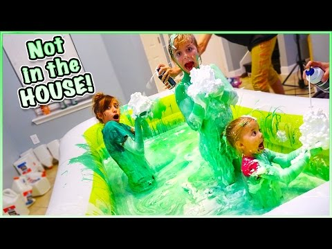 😁 500 POUNDS OF FLUFFY PUFFY SLIME CHALLENGE! 😁