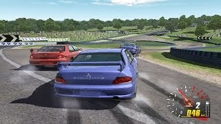 Toca DTM Race Driver 2 HD PC Gameplay at Brands Hatch