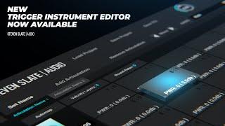 Steven Slate Audio - Trigger Instrument Editor 2