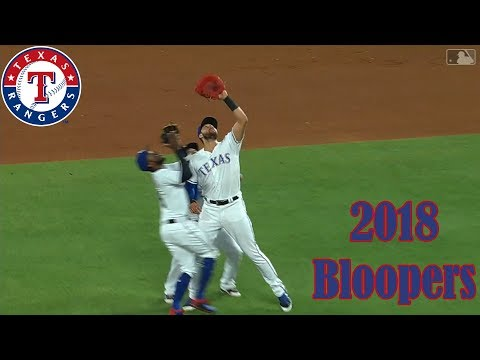Texas Rangers: 2018 Bloopers, Oddities, Miscues, and more!