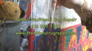 Kilim Weaving 212 300 348 KOSKER TRADITIONAL RUG REPAIR(, 2012-12-23T04:57:00.000Z)
