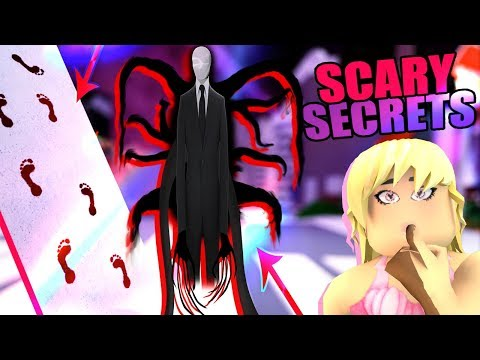 HOW TO SEE SLENDERMAN & BLOODY FOOTPRINTS! SCARY SECRETS On Earth! Royale High