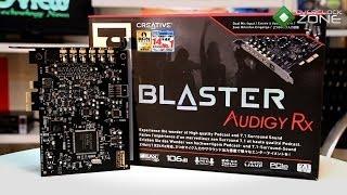 OverclockZone TV EP.415 : Creative Sound Blaster Audigy Rx (HD)
