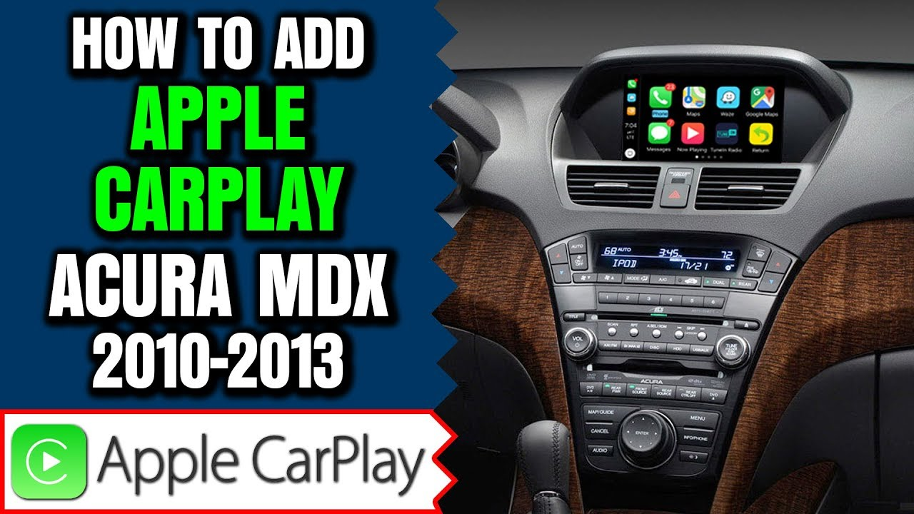 Navtool Lecarplay Acura