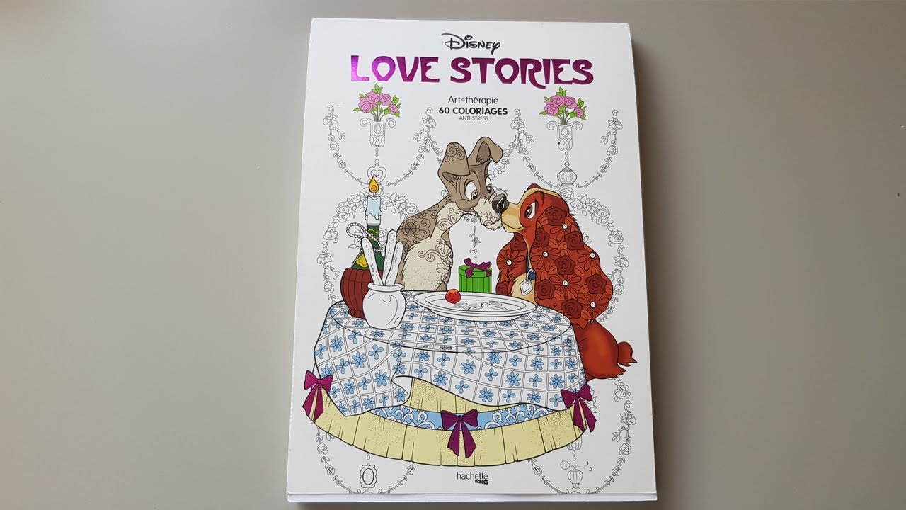 Disney Love stories flipthrough