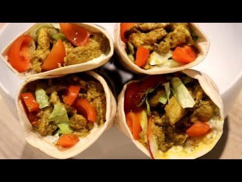 Homemade Afghani Shawarma شورمه خانگی افغانی