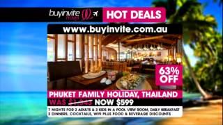 Buyinvite Travel: Thailand, Gold Coast, Canberra Thumbnail