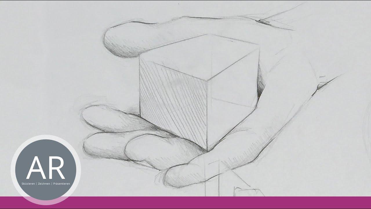 Hände Zeichnen Einfach Gemacht Hände Skizzieren Beispiel Aus