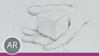 Hände zeichnen einfach gemacht. Hände skizzieren. Beispiel aus unserem Mappenkus Produktdesign