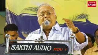 போலீசை வெளுத்து வாங்கிய ராதாரவி : Radharavi Angry Speech About Pollachi Issue | DMK Public Meeting